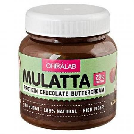 Паста шоколадная CHIKALAB с фундуком, 250 гр.